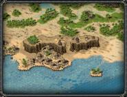 Остров Пиратов, статуя воительницы 3