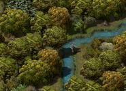 Серебряный ручей (ближний план)