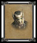 Ледяной гоблин (портрет)