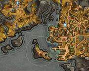 Остров Судьбы на карте