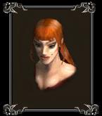 Подавальщица (портрет)