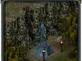 Статуя эльфа (Глумур)