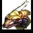 Золотой глорб-охотник (иконка)