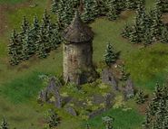 Тимбертон, руины 4