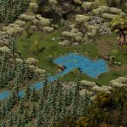 Дракенден, поляна 3