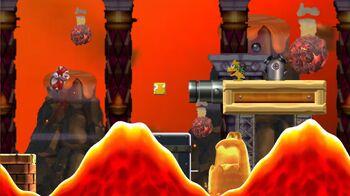 Bowser Jr S Volcanic Sky Castle Newer Super Mario Bros