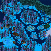 Map Upper Frostwoods 0 0 0