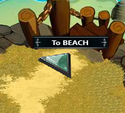 Beach and Crab Cave