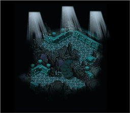 Map Temple of Lost Souls Blue 0 0 0