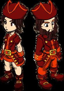 Fall Pirate