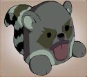 Totem raccoon