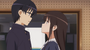 Kato Megumi scene from ep 8 12