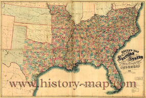 Confederate-States-Map