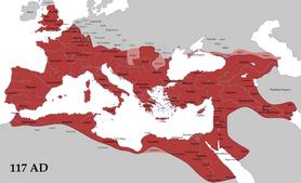 Roman Empire Trajan 117AD