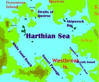 Harthian Sea