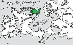 Greentree Island map