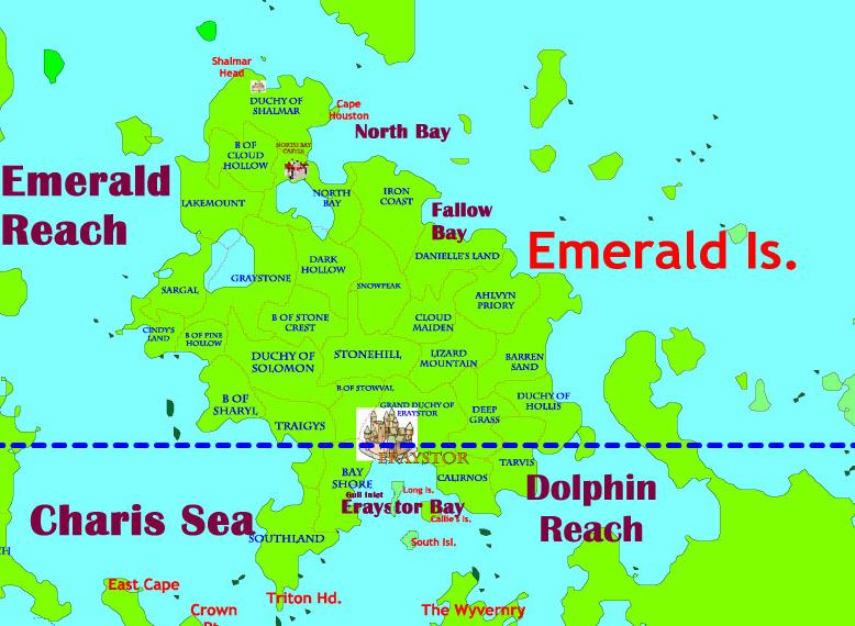 Princedom of Emerald | Safehold Wiki | FANDOM powered by Wikia on charis island map, dread empire map, second exit garlaige citadel map, world political map, elemental world map,