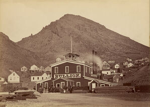 800px-Carleton Watkins (American - The Bullion Mine, Virginia City, Nevada - Google Art Project