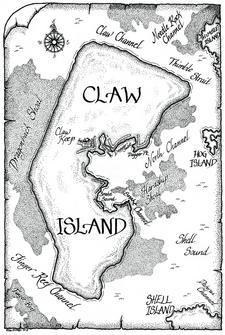 Claw Island Map LAMA 01