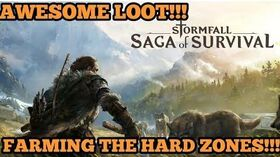 FARMING THE HARDER ZONES!!! HELPFUL TIPS AND TRICKS!! - Stormfall Saga of Survival (Ep 04)
