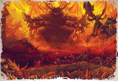 Fortaleza Bronce Trono Cráneos Khorne