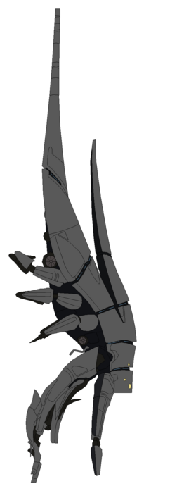 Mass effect harbinger class reaper by jrodblue-d4to2to