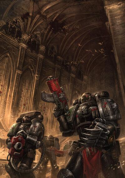 The halls of the omega vault by ameeeeba-d5pjnyh
