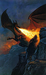 Ted Nasmith - Scouring the Mountain