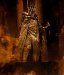Sauron forging the One Ring