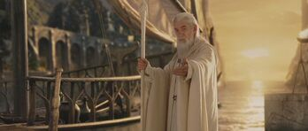 Gandalf leaving