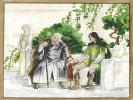 Catherine Chmiel - Ecthelion,Thorongil and Boromir study