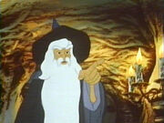 Gandalf from Ralph Bakshi's The Lord of the Rings