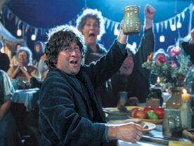 Hobbits feasting