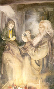 Gandalf-and-Frodo-at-Bag-End-alan-lee-18907470-605-995 (1)