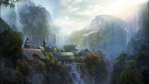 The Lord of the Rings War in the North - Concept Art of Rivendell