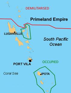 Treaty of Port Vila map