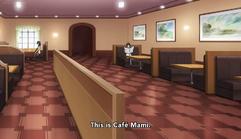Inside Cafe Mami