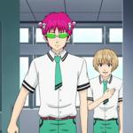 Touma swears to Kusuo