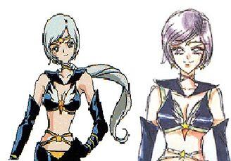 Sailor Star Healer Comparison