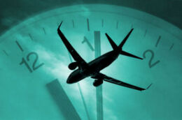 Plane Clock