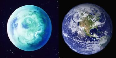 Kinmoku and Earth