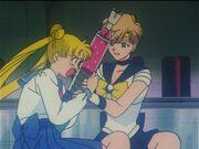 Sailor moon episode 110 usagi struggles with haruka