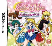Sailor-Moon-La-Luna-Splende NintendoDS cover