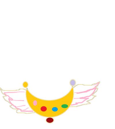 Sailor neo moon brooch