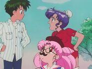 Kyūsuke, Momoko i Chibiusa
