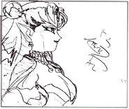 Queen Nehellenia Sketch 3