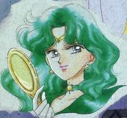 Sailor Neptune z lustrem kolor