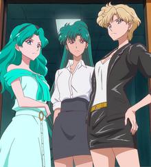 With haruka and Setusna