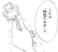 Klucz Czasoprzestrzeni manga 2