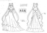 Princess Serenity Model Sheet 2